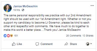 Statement McGeachin