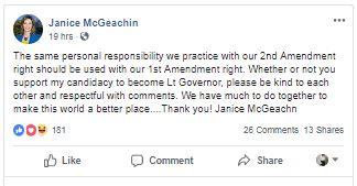 Statement McGeachin